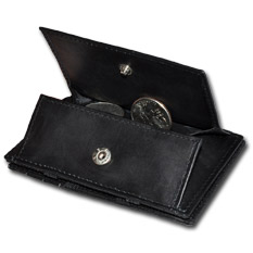 Magic Wallet Coin Pocket Black